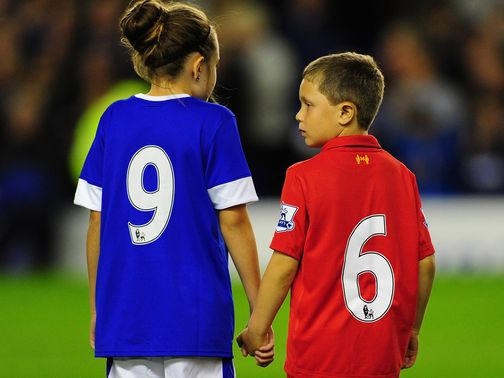 Everton showed their support for the 96