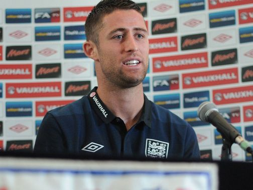 Gary Cahill: Robbed of the chance to play at Euro 2012