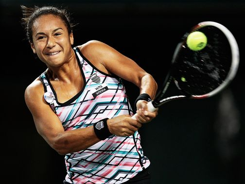 Heather Watson: Battled to victory in Japan