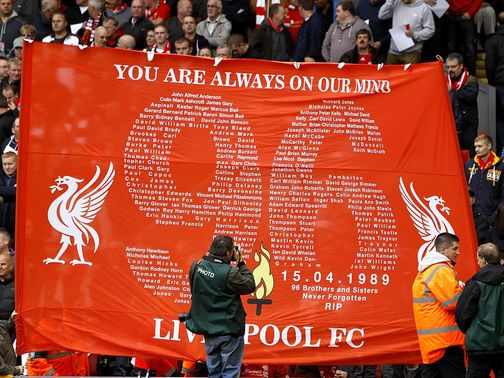 The Hillsborough disaster claimed 96 lives