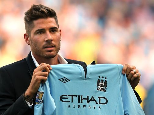 Javi Garcia was at the Etihad on Saturday