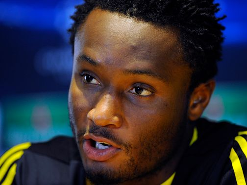 John Obi Mikel: Likely to be given a breather