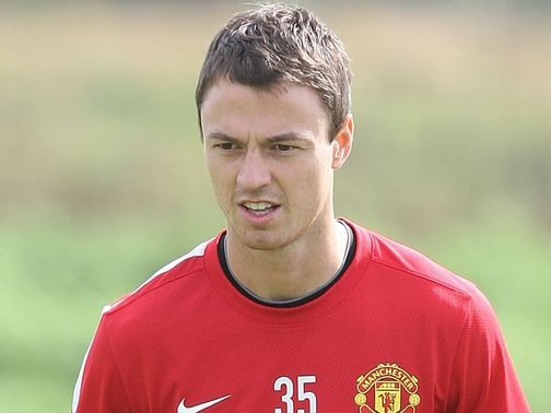 Jonny Evans: Trained on Monday morning