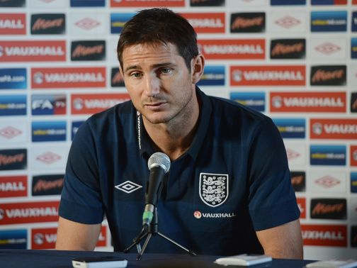 Frank Lampard: Impressed with youngsters