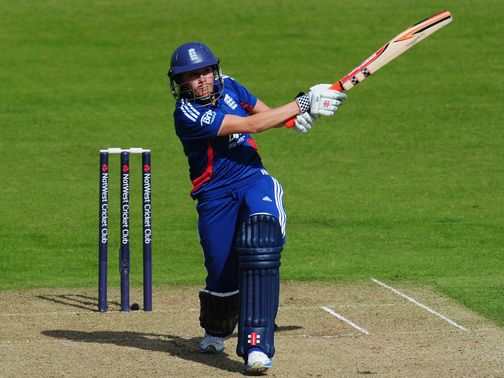 Laura Marsh: Half-century in England win
