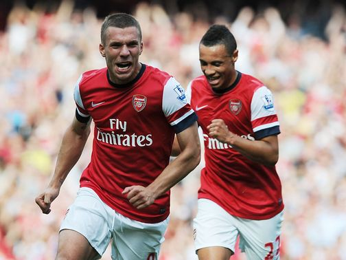 Lukas Podolski and Arsenal should be too good