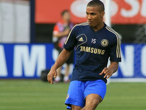 Florent Malouda: Training with under-21s