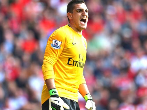 Mannone: Enjoyed a run in the team at Hull