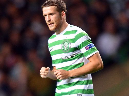 Adam Matthews: Yet to find the net at Parkhead