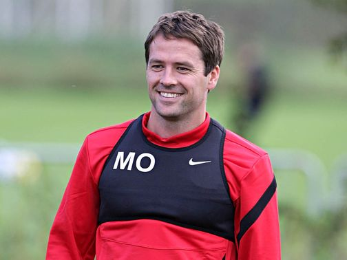 Michael Owen: Has linked up with Stoke as a free agent