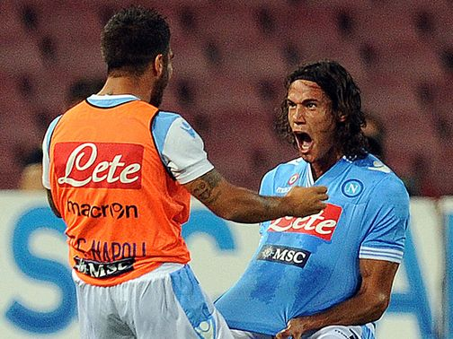 Cavani: Hat-trick hero in Napoli win