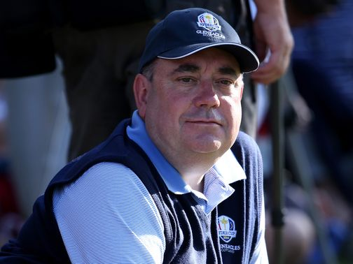 Alex Salmond: 'It is a fantastic boost for Scottish golf'