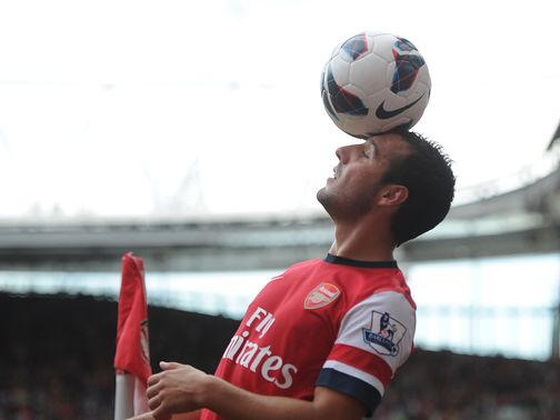 Santi Cazorla: Enjoying life in the Premier League