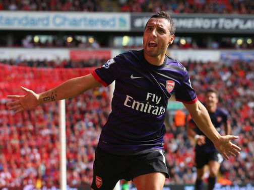 Santi Cazorla: Strong start to life at Arsenal