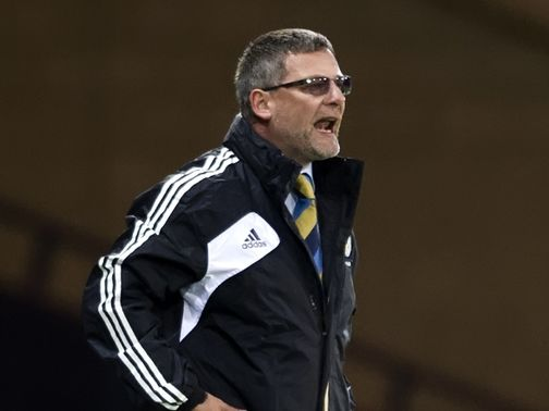 Levein: Still remains hopeful