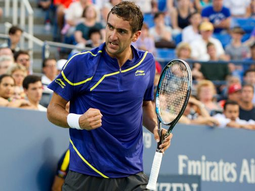 Marin Cilic: Through to the semi-finals in straight sets