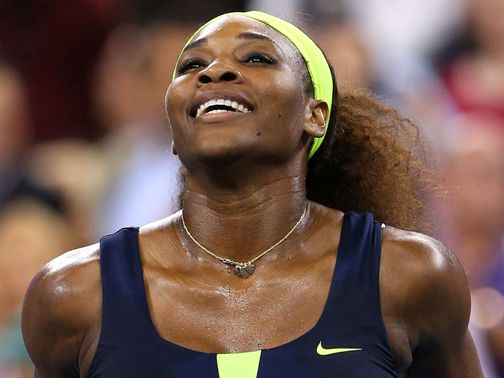 Serena Williams: Now faces Sara Errani