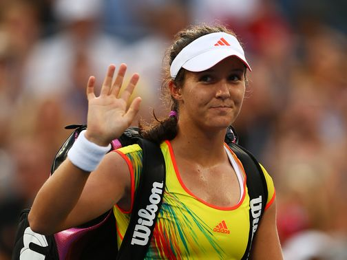 Laura Robson: Beaten in three sets