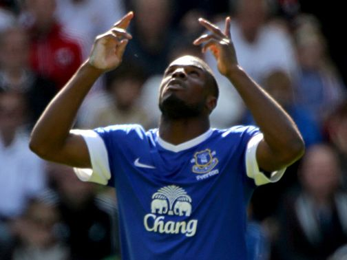 Victor Anichebe: Keen to repay Everton&#39;s faith