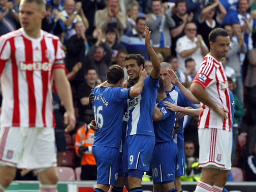 Franco Di Santo: Performance against Stoke delighted Martinez