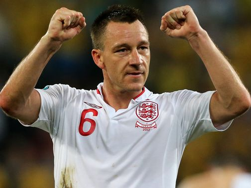 John Terry: Has quit England duty