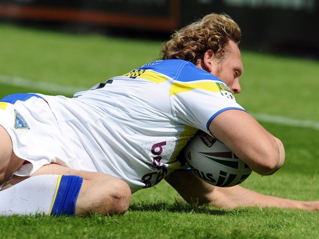 Ben Westwood: Two tries for the Wolves