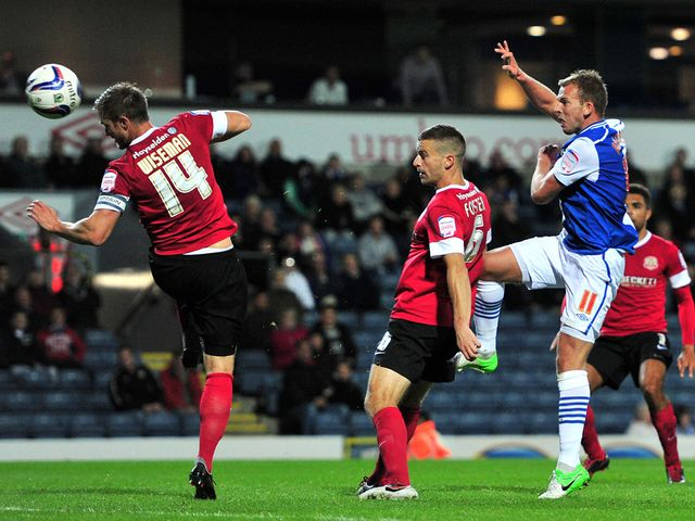 Jordan Rhodes nets for Blackburn