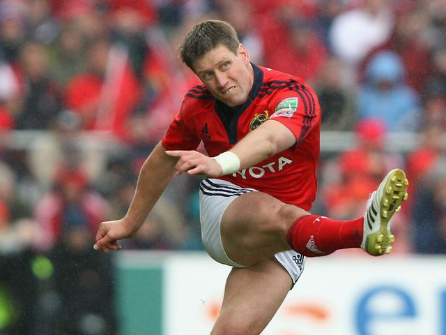 Ronan O'Gara: Helped Munster claim victory