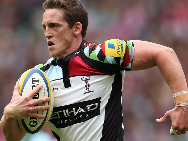 Tom Williams: Quins full-back will be looking to upset Bath
