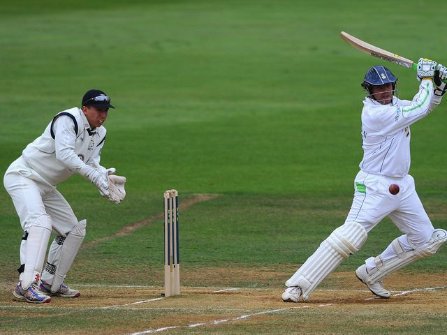 Wes Durston helped push Derbyshire towards their title win