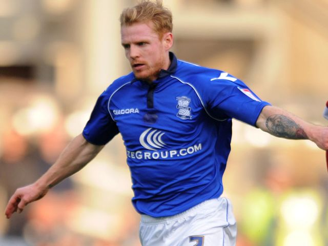 Chris Burke: Scored for Birmingham