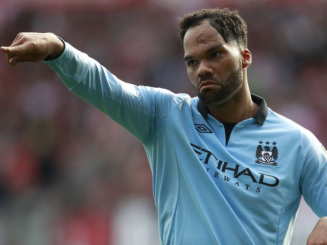 Joleon Lescott: In and out of the City side at the moment