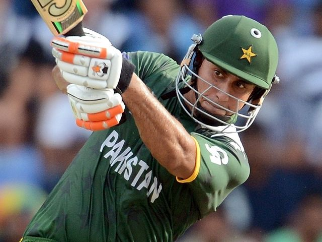 Nasir Jamshed: Four sixes in sparkling 56