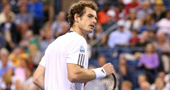 Andy Murray: In complete control against Milos Raonic