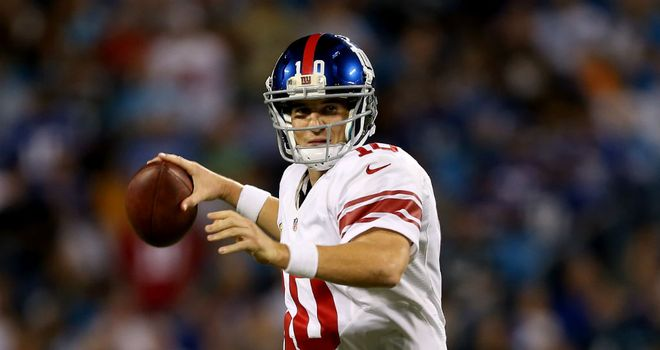 Eli Manning: Produced another superb display for the New York Giants