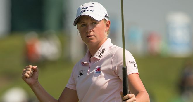 Stacy Lewis: Stormed to victory on final day