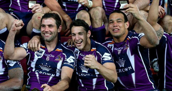 Melbourne Storm: Aiming to adjust to UK time zone as quickly as possible
