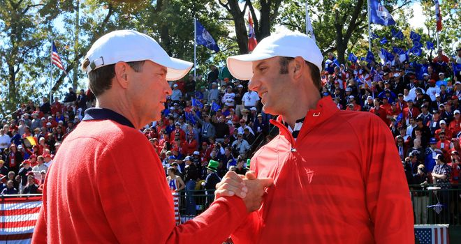 Dustin Johnson: Insists captain Davis Love did things the right way