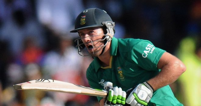 AB de Villiers: In need of a rest