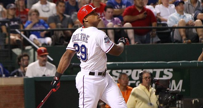 Adrian Beltre: Drove in three runs
