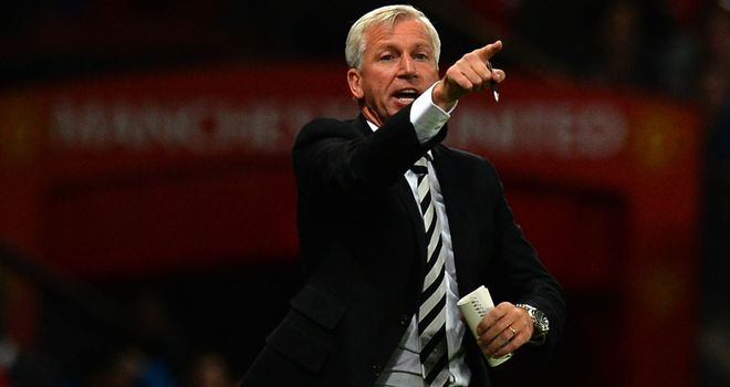Alan Pardew: Newcastle boss has praised Magpies owner Mike Ashley