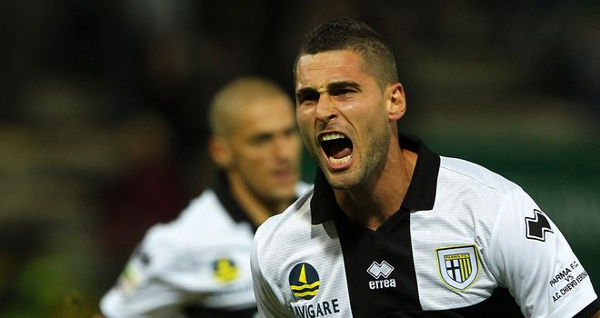 Aleandro Rosi scored for Parma