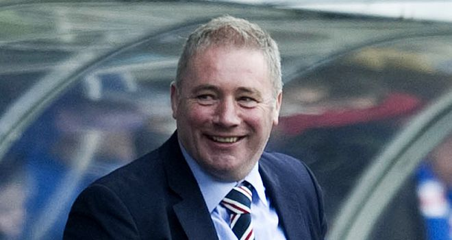 Ally McCoist: The Rangers boss is feeling the pressure at Ibrox