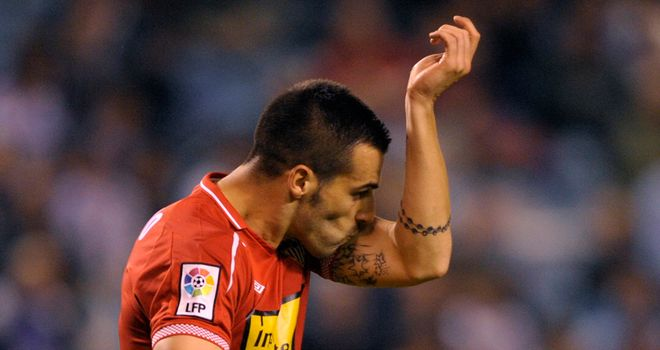 Alvaro Negredo: Netted a last-gasp spot-kick for Sevilla