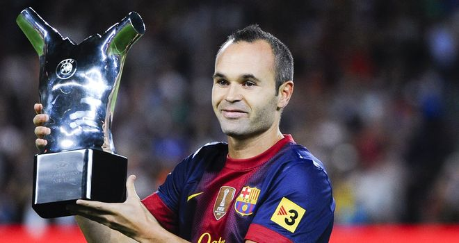 Andres Iniesta: Happy with Barcelona's style but recognises there are other methods