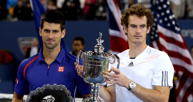 Andy Murray beat Novak Djokovic at last year's US Open to win his first Grand Slam title