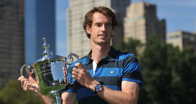 Andy Murray: The Scot will thank fans for their support from an open-topped bus