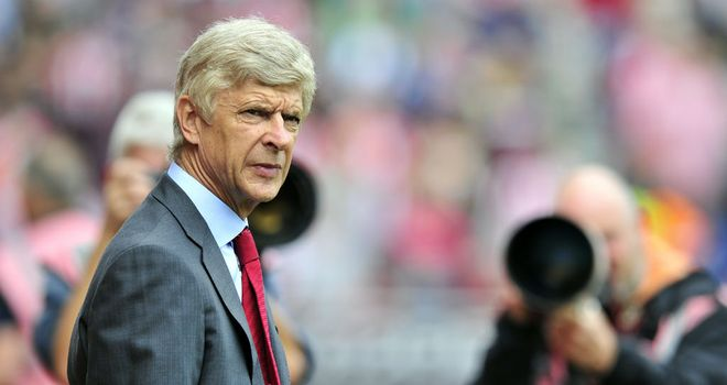 Arsene Wenger: The Arsenal manager is full of confidence after his side's draw at Manchester City