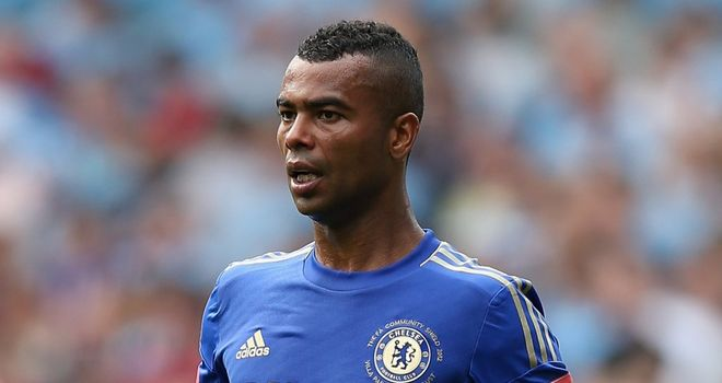 Ashley Cole: Has responded to the report on Chelsea team-mate John Terry with an abusive tweet