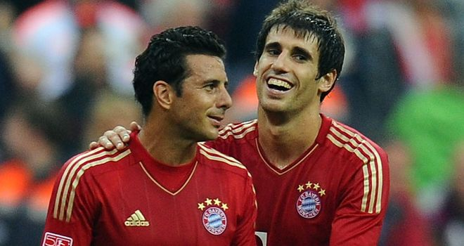 Javi Martinez: New signing made his Bayern Munich debut in a 6-1 win over Stuttgart